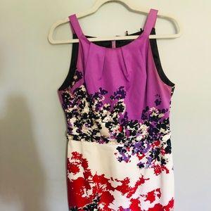 Beautiful Printed Elie Tahari Dress